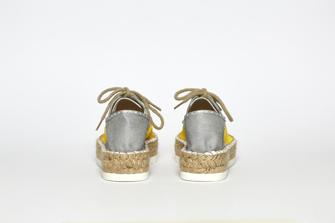 Zapatos de plataforma con cordones