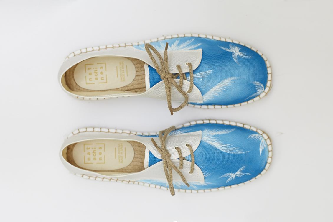Zapatillas con cordones para hombre